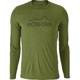 Patagonia M's Capilene Daily LS Graphic T-Shirt Sprouted Green X-Dye
